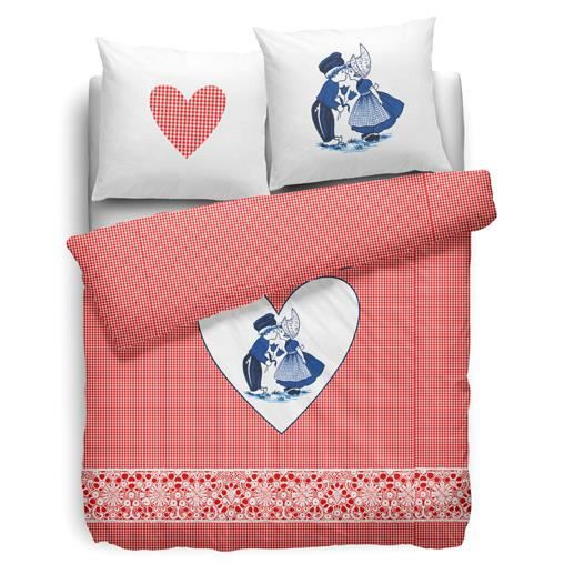 blue kiss by cover co housse de couette 140x200 cm achat vente housse de couette cdiscount. Black Bedroom Furniture Sets. Home Design Ideas
