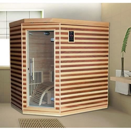sauna joy infrarouge 2 places achat vente kit sauna. Black Bedroom Furniture Sets. Home Design Ideas
