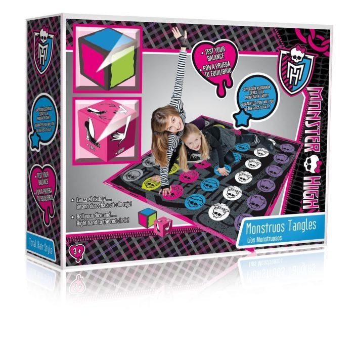 monster high m li m lo achat vente jeu soci t plateau soldes d t cdiscount. Black Bedroom Furniture Sets. Home Design Ideas