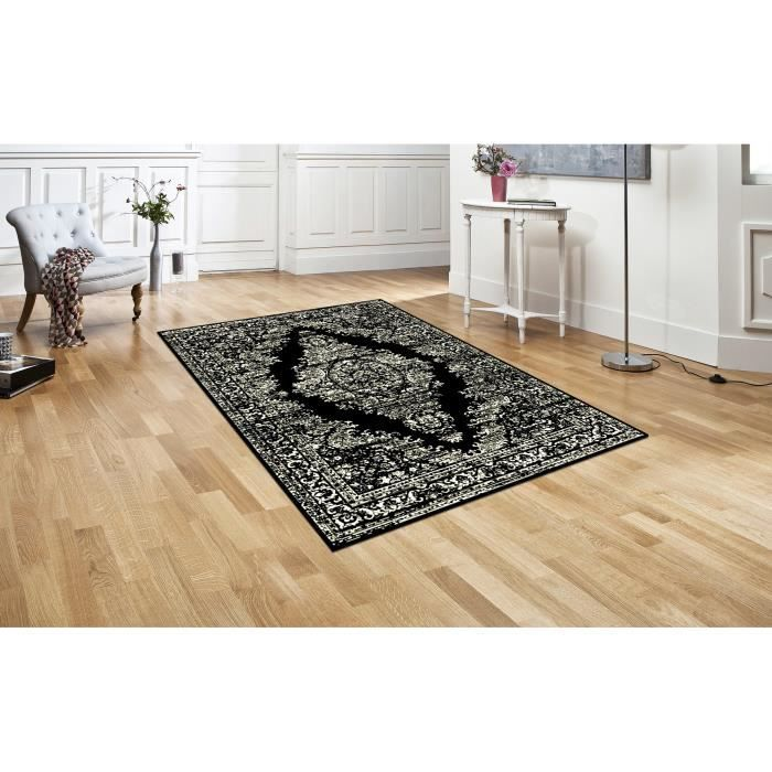 Tapis salon new baroque 120 x 160 cm achat vente tapis cdiscount - Tapis decoratif salon ...