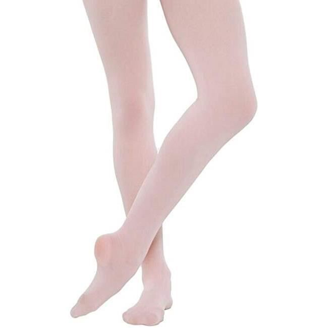Filles Convertible Ballet Collants Rose Âge 9-11 Ans Par Silky Enfant Danse