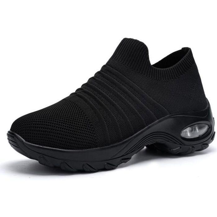 DYKHMILY Chaussures de securite Femme Legeres Baskets de Securite Embout Acier Respirant Reflechissant Chaussures de Travail