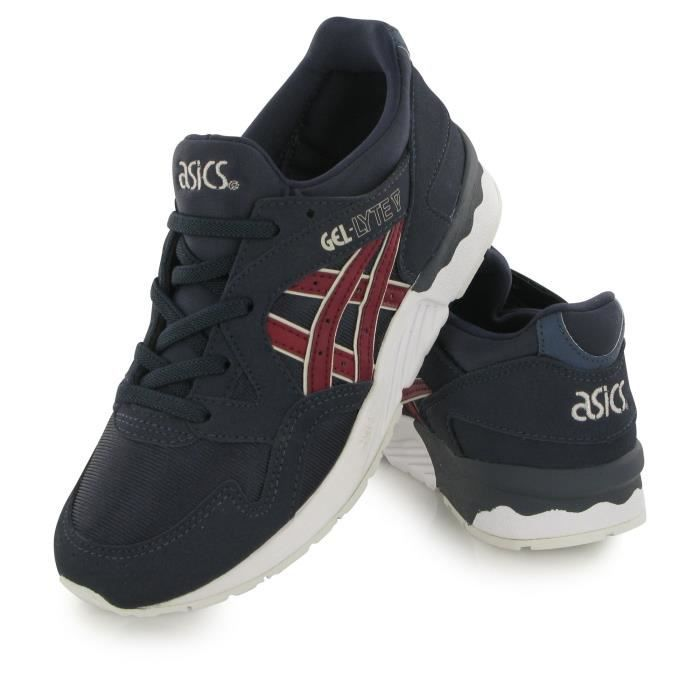 Asics Gel Lyte 5 bleu, baskets mode mixte