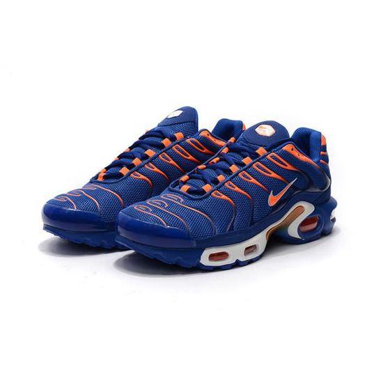 Soldes > nike tn bleu orange > en stock