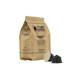 CAFÉ 96 Capsules de Soluble Chocolat blanc compatibles