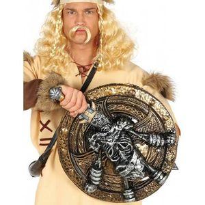 ACCESSOIRE DÉGUISEMENT Bouclier et épée squelette viking 57 cm