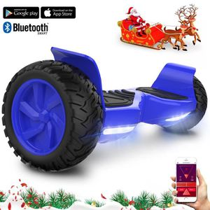 """ACCESSOIRES GYROPODE - HOVERBOARD EverCross Overboard Bleu Scooter 2 Roues 8.5"""" Tout"""