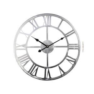 Lumina Horloge Lumineuse Bois Et Blanc Achat Vente