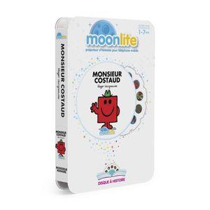 LIVRE INTERACTIF ENFANT MOONLITE Pack Histoire - Monsieur Costaud
