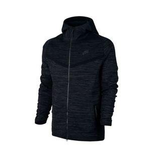 Sweat Nike Tech Knit Windrunner 728685 010 Noir Achat