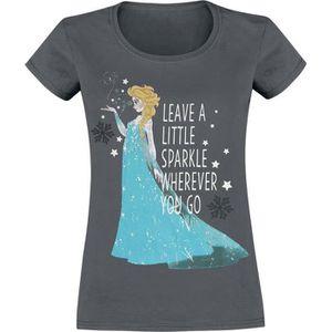 T-SHIRT La Reine Des Neiges Elsa - Leave A Sparkle T-Shirt