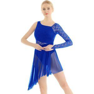 JUPETTE DE DANSE Femme Asymétrique Robe Danse Classique Tutu Ballet