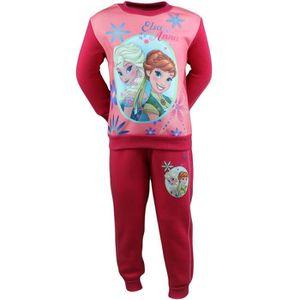 Disney costume jogging//survêtement avec Frozen//La reine motif