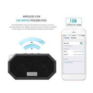 ENCEINTE NOMADE Mini enceinte stéréo Bluetooth portable haut parle