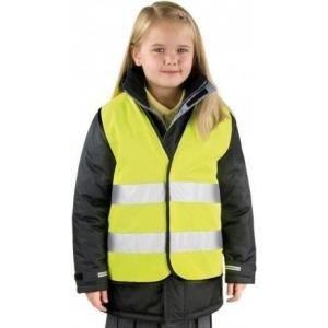 KIT DE SÉCURITÉ Gilet de sécurité enfant - jaune fluo - auto
