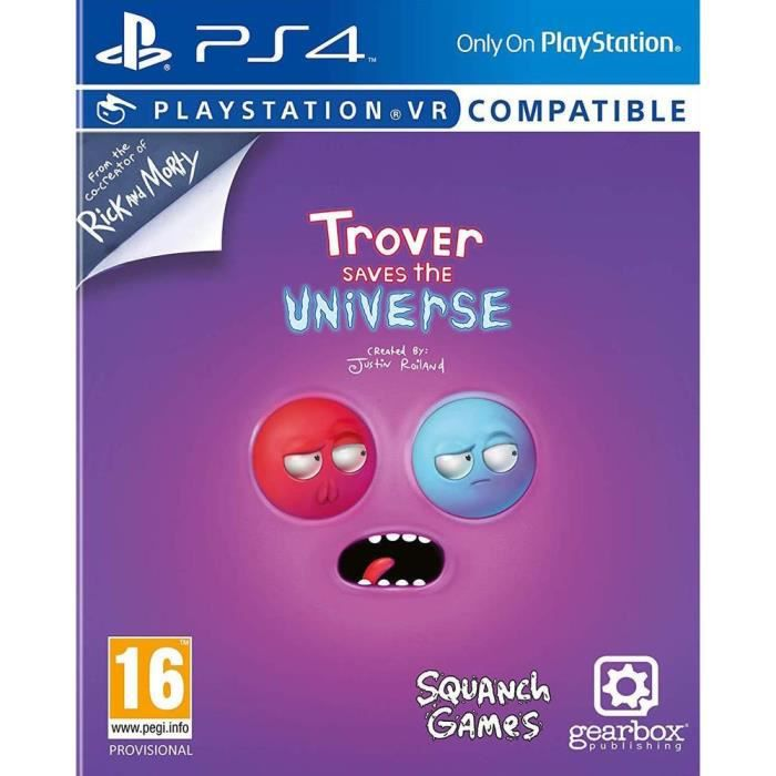 Trover Saves The Universe Jeu PS4