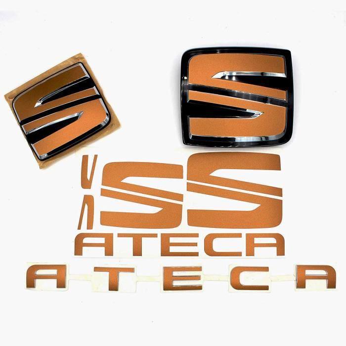 Finest-Folia SE07 Emblème avant + arrière avec volant