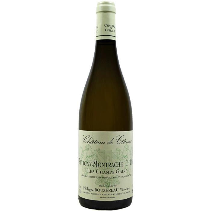 Puligny-Montrachet, Premier Cru, Champs Gains, Château de Citeaux (Bourgogne), 2018 - Vin Blanc