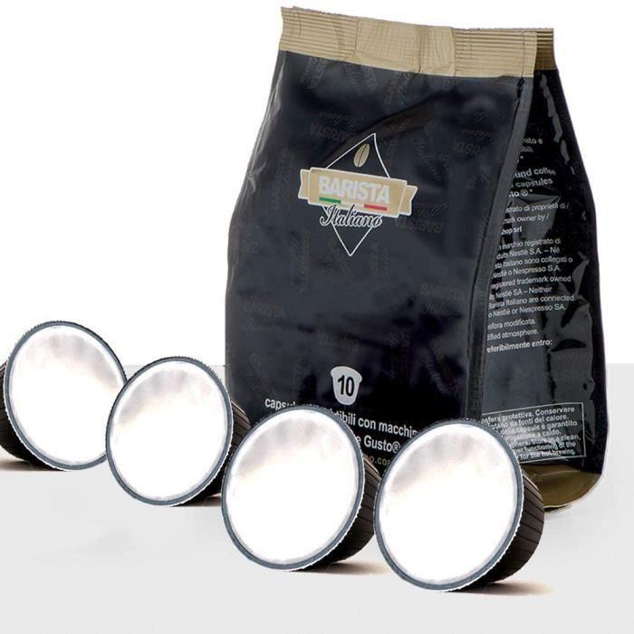 Lait - 50 Capsules Compatibles Dolce Gusto (Lait 50 Capsules 50 Portions)
