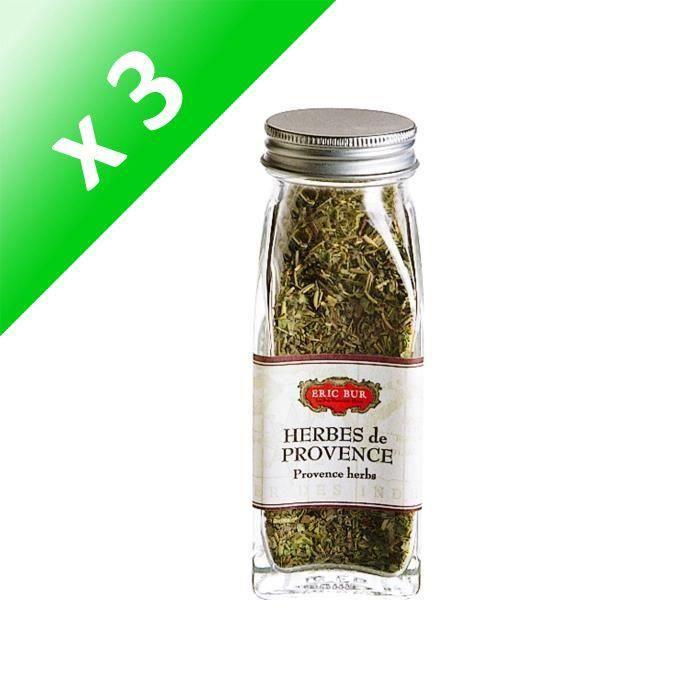[LOT DE 3] ERIC BUR Herbes de Provence - 17 g