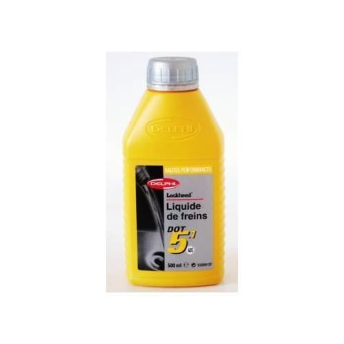Liquide de frein Dot 5.1 Ultra Delphi 0.5 litre