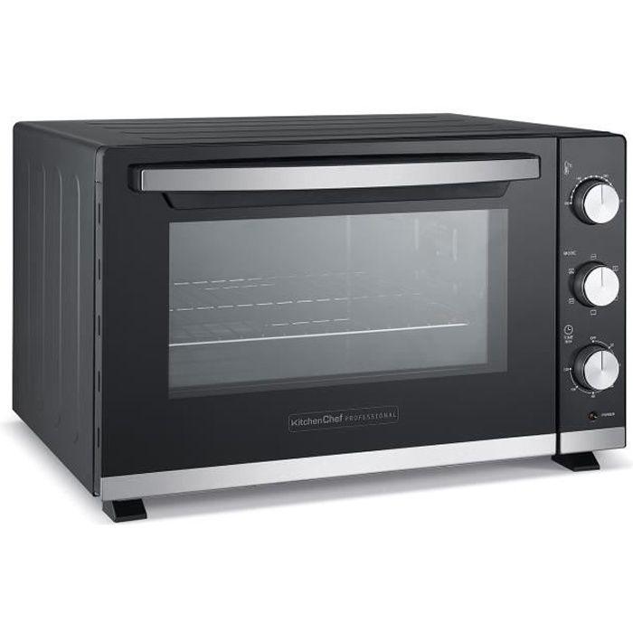 kitchen chef - four multifonction chaleur tournante 46l - kc-four46