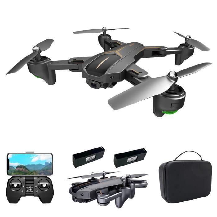 Drone VISUO XS812 avec caméra Drone 4K GPS 5G Wifi FPV Drone pliant Mode sans tête GPS Suivre le geste de prise de vue Drone-87