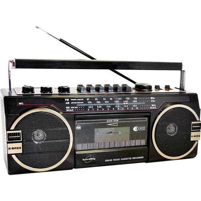 Radio cassette enregistreur : Réécoutez vos anciennes cassettes !