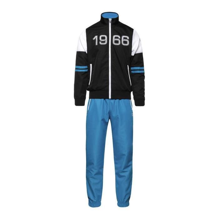 Jogging Homme Sergio Tacchini Bleu Royal et Noir