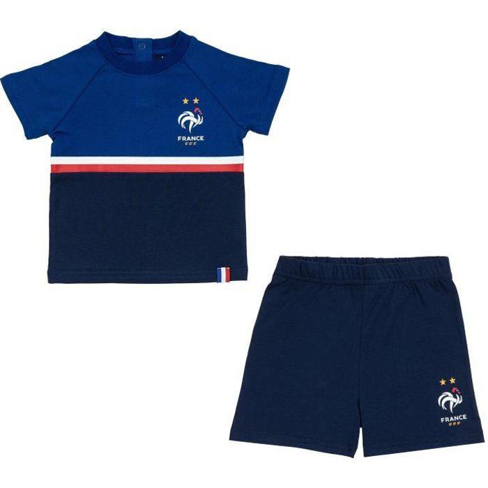 Ensemble de Vêtements Minikit FFF bébé - Collection officielle EQUIPE DE France