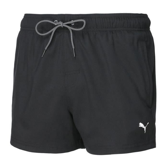 Puma Swim Men, Short de Bain -Short Length Swim- Black