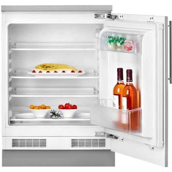 Teka TKI3 145 D Réfrigérateur intégrable niche largeur : 60 cm profondeur : 55 cm hauteur : 82 cm 128 litres Classe A++ blanc