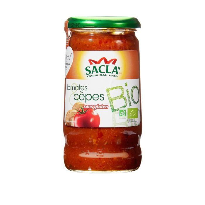 Tomates cêpes bio - 345g