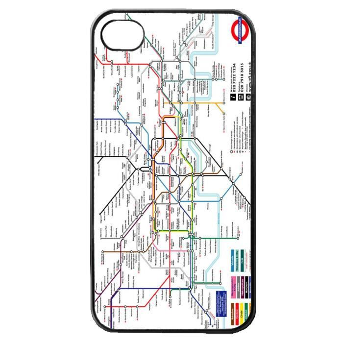 coque iphone 5 map