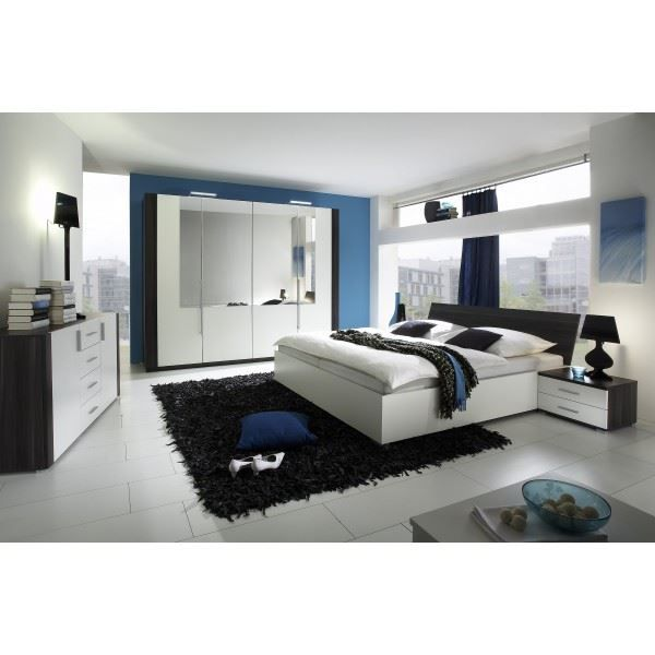 Chambre adulte compl te celia lit 160 x 200 cm achat for Chambres a coucher completes adultes