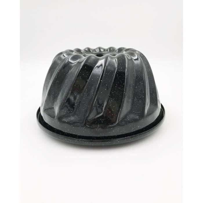 Kochstar K1035EE Moule A Manque 26cm /Émail 26 x 26 x 6,5 cm Noir