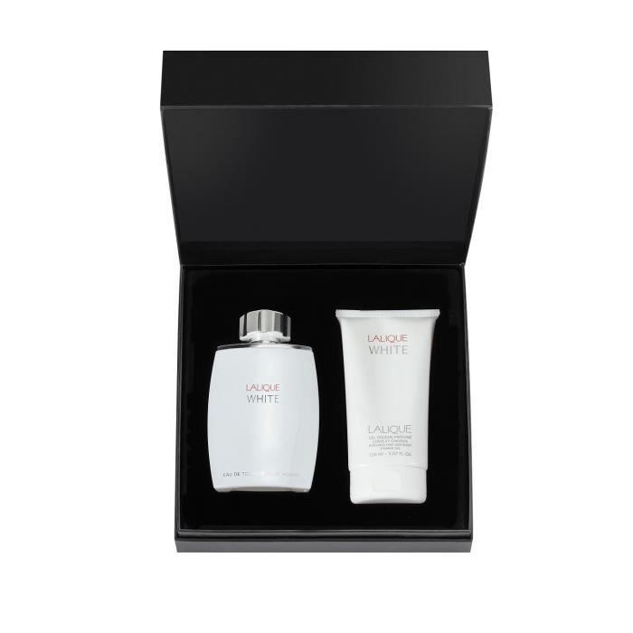 COFFRET CADEAU PARFUM Coffret Lalique White Edt 125 ml + Gel Douche 150