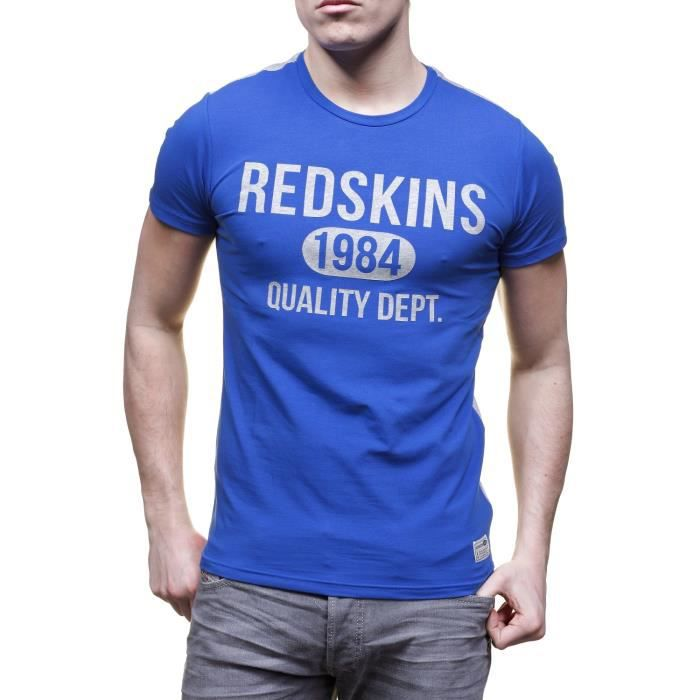 Work Achat Vente Redskins Chandler Calder Blue Shirt T vYwxzHq7In