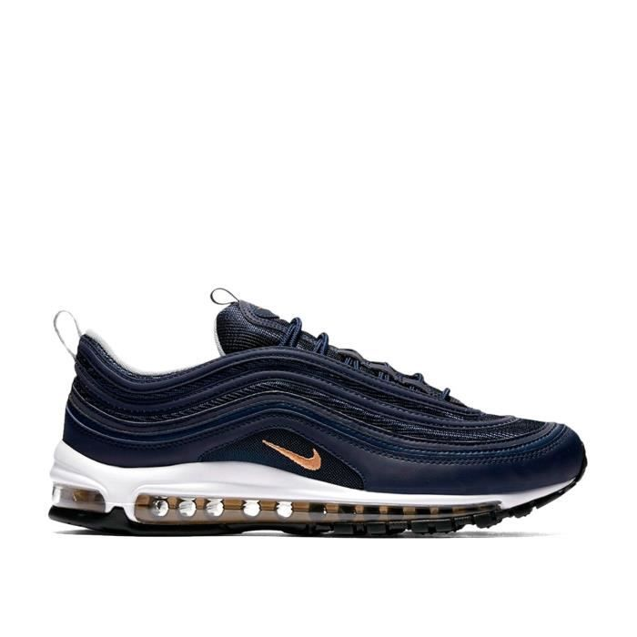 pretty cool newest collection the sale of shoes NIKE AIR MAX 97 - 921826-400 - AGE - ADULTE, COULEUR - BLEU ...