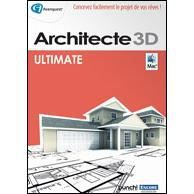 architecte 3d pour macintosh ultimate editio. Black Bedroom Furniture Sets. Home Design Ideas