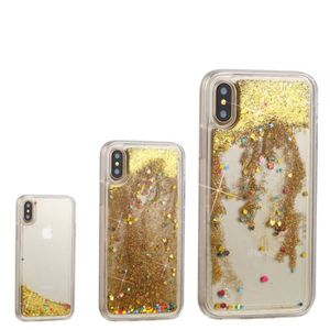 coque iphone 8 plus eau paillette