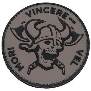 ECUSSON viking guerrier bouclier casque tete de mort ecuss