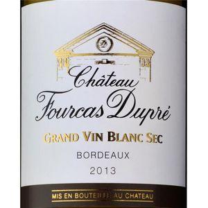 VIN BLANC Château Fourcas Dupré Blanc - Bordeaux 2014 6 x Bo
