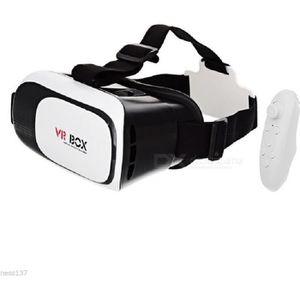 CASQUE RÉALITÉ VIRTUELLE Casque Réalité Virtuelle 3D Télécommande VR BOX Je