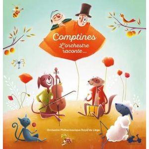 LIVRE LOISIRS CRÉATIFS Livre - comptines ; l'orchestre raconte...