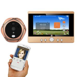 SONNETTE - CARILLON 720p WiFi sans fil numérique judas de porte specta