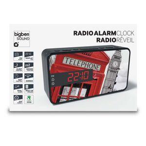 Radio réveil BIGBEN RR15TB2 Radio Réveil - Décor téléphone box