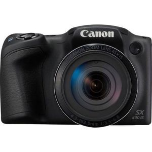 CANON PowerShot SX431 Appareil photo Bridge Zoom X45 - 20Mp - Noir