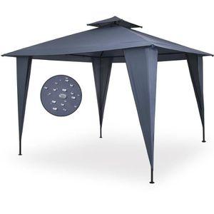 TONNELLE - BARNUM Tonnelle/Pavillon Sairee anthracite tente de jardi