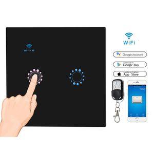 interrupteur mural RF433 Interrupteur sans fil auto-aliment/é /émetteur pour panneau mural t/él/écommande murale sans pile sans c/âblage kit /à 1 voie
